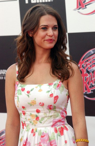 Lyndsy Fonseca at 'Speed Racer' World Premiere - Arrivals - Nokia Theater, Los Angeles, CA. USA