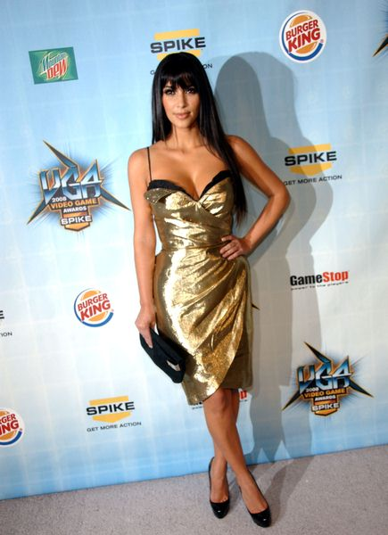 Kim Kardashian at Spike TV's 2008 'Video Game Awards' at Sony Studios, Culver City, CA. USA