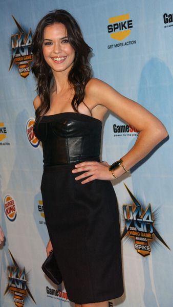 Odette Yustman at Spike TV's 2008 'Video Game Awards' at Sony Studios, Culver City, CA. USA