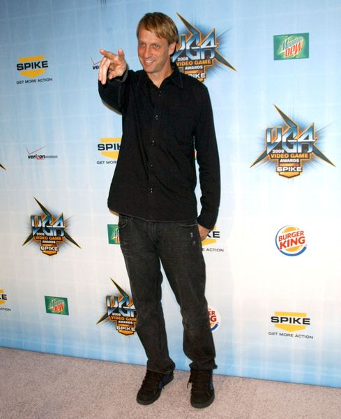 Tony Hawk at Spike TV's 2008 'Video Game Awards' at Sony Studios, Culver City, CA. USA