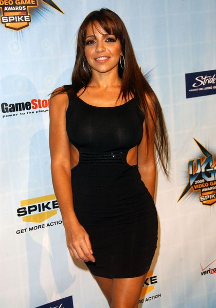Vida Guerra at Spike TV's 2008 'Video Game Awards' at Sony Studios, Culver City, CA. USA