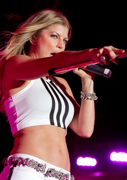 Fergie at Sunfest 2008 at Downtown West Palm Beach - Downtown West Palm Beach, Florida