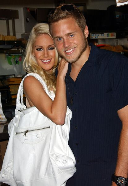 Heidi Montag, Spencer Pratt at Taco Bell Provides 'Reality Check Challenge' on Global Hunger Issue - Taco Bell LaBrea, Los Angeles, CA. USA