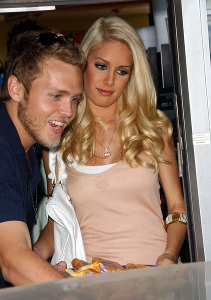 Spencer Pratt, Heidi Montag at Taco Bell Provides 'Reality Check Challenge' on Global Hunger Issue - Taco Bell LaBrea, Los Angeles, CA. USA
