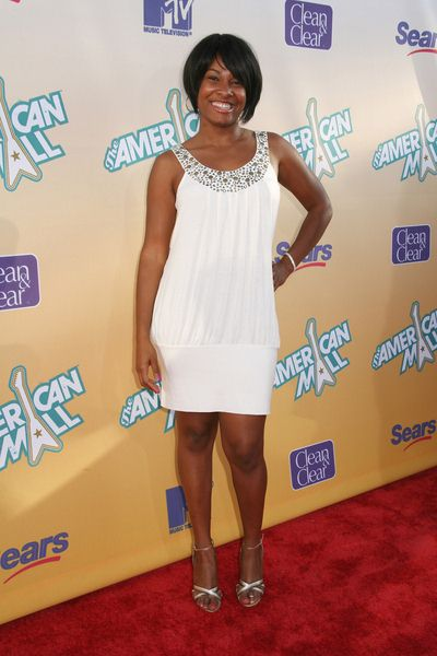 Angel Moore at 'The American Mall' Hollywood Premiere - Arrivals in Cinerama Dome, Hollywood, CA, USA