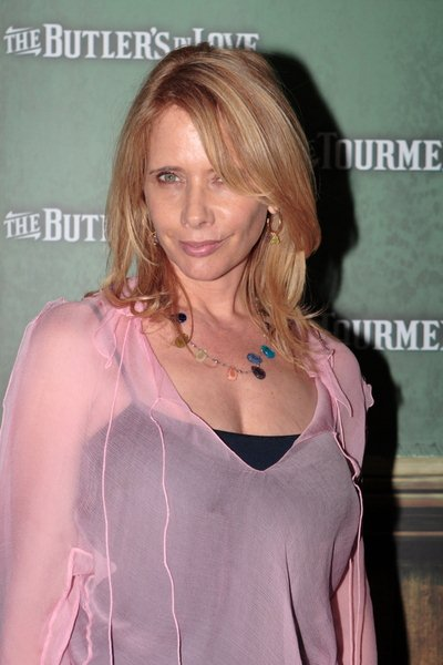 Rosanna Arquette at 'The Butler's in Love' Los Angeles Premiere - Mann's Chinese 6 at Hollywood & Highland, Hollywood, CA