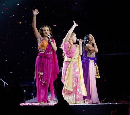 The Cheetah Girls at The Cheetah Girls One World Tour 2008 at United Center Chicago - United Center, Chicago, IL, USA
