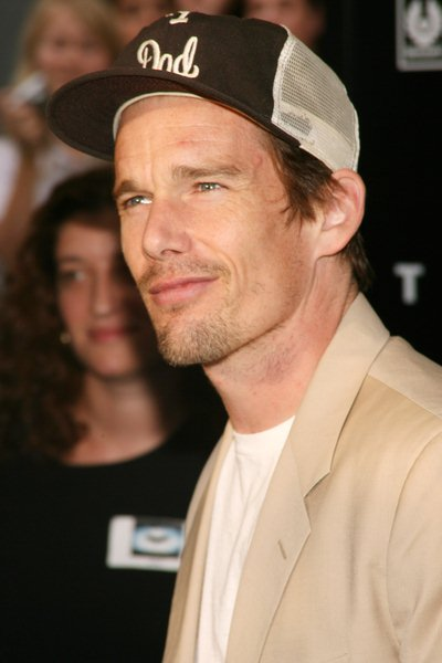 Ethan Hawke at 'The Dark Knight' World Premiere - Arrivals at AMC Loews Lincoln Square, 68th Street and Broadway, New York City, NY, USA