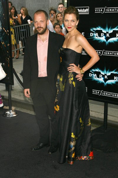 Peter Sarsgaard, Maggie Gyllenhaal at 'The Dark Knight' World Premiere - Arrivals at AMC Loews Lincoln Square, 68th Street and Broadway, New York City, NY, USA