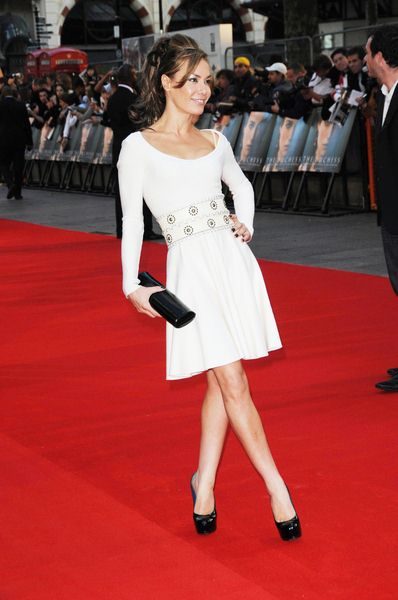 Tara Palmer-Tomkinson at 'The Duchess' London Premiere at Leicester Square, London, UK
