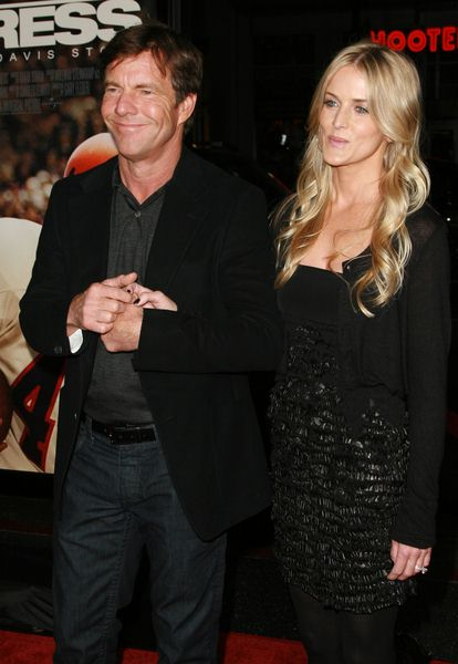 Dennis Quaid at 'The Express' Hollywood Premiere in Grauman's Chinese Theater, Hollywood, CA, USA