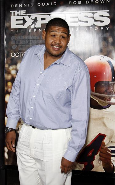 Omar Benson Miller at 'The Express' Hollywood Premiere in Grauman's Chinese Theater, Hollywood, CA, USA
