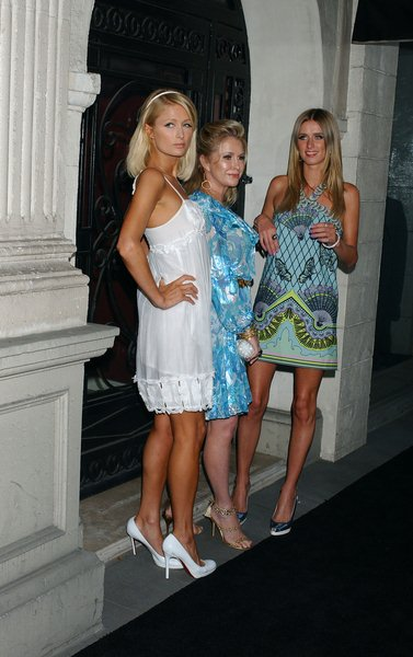 Paris Hilton, Nicky Hilton, Kathy Hilton at 'The Good Life' Photo Exhibition of Photographers Murray Garrett and Slim Aarons - Charity Auction, Hollywood, CA, USA