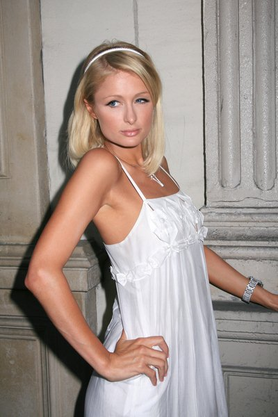 Paris Hilton at 'The Good Life' Photo Exhibition of Photographers Murray Garrett and Slim Aarons - Charity Auction, Hollywood, CA, USA