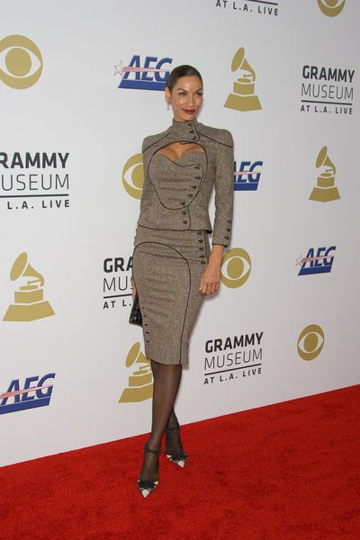 Nicole Murphy at The Grammy Nominations Concert Live - NOKIA Plaza at L.A. Live, Los Angeles, CA USA