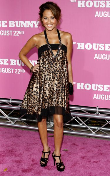 Adrienne Bailon at 'The House Bunny' Los Angeles Premiere - Arrivals at Mann Village Theater, Westwood, CA, USA