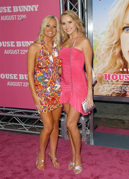 Katie Lohmann, Alana Curry at 'The House Bunny' Los Angeles Premiere - Arrivals at Mann Village Theater, Westwood, CA, USA