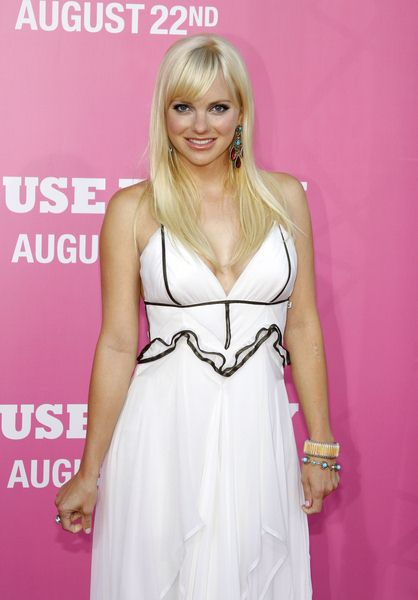 Anna Faris at 'The House Bunny' Los Angeles Premiere - Arrivals at Mann Village Theater, Westwood, CA, USA