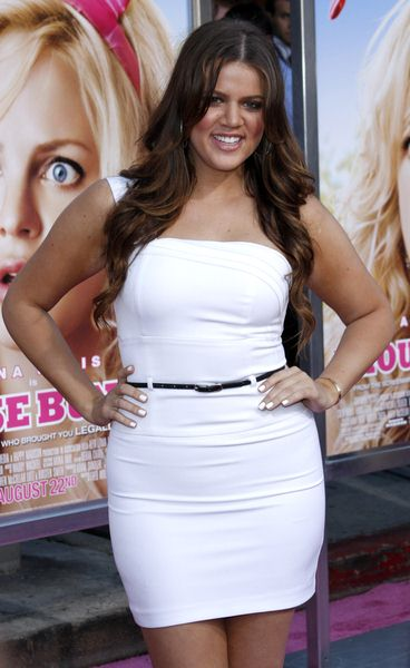 Khloe Kardashian at 'The House Bunny' Los Angeles Premiere - Arrivals at Mann Village Theater, Westwood, CA, USA
