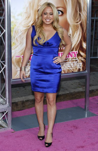Sabrina Bryan at 'The House Bunny' Los Angeles Premiere - Arrivals at Mann Village Theater, Westwood, CA, USA