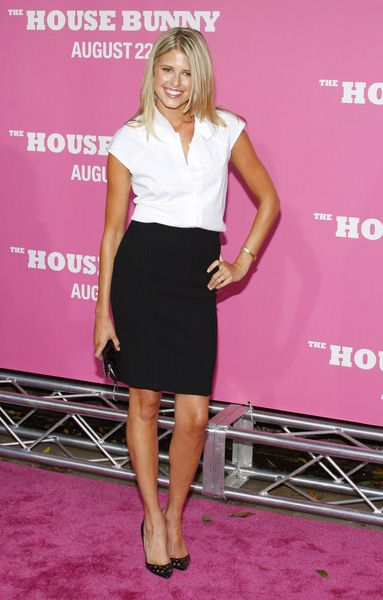 Sarah Wright at 'The House Bunny' Los Angeles Premiere - Arrivals at Mann Village Theater, Westwood, CA, USA