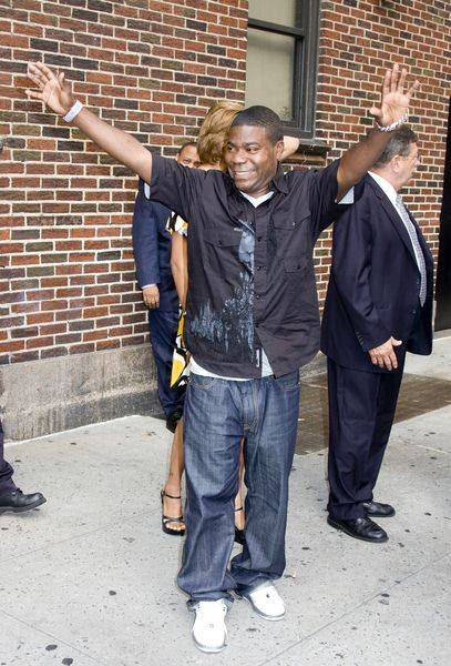 Tracy Morgan at The Late Show with David Letterman on August 25, 2008 at Ed Sullivan Theatre, New York City, NY, USA