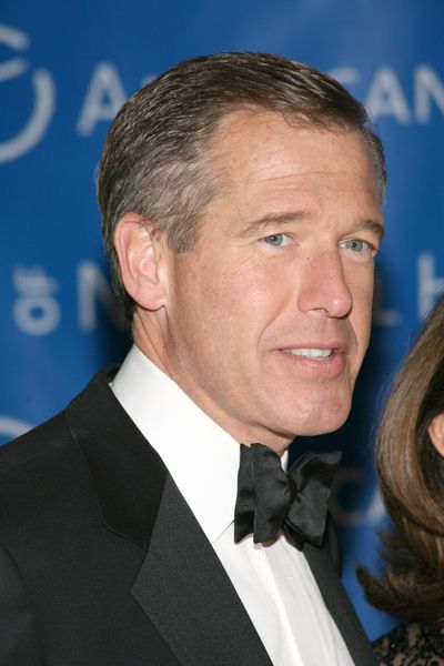 Brian Williams at The Museum Gala 2008 at The Museum of Natural History, Central Park West at 79th Street, New York City, NY, USA