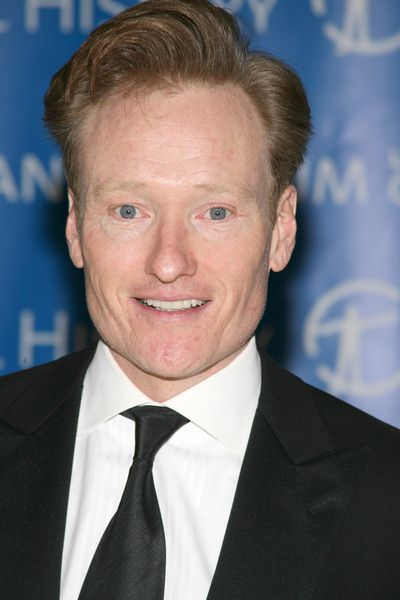 Conan O'Brien at The Museum Gala 2008 at The Museum of Natural History, Central Park West at 79th Street, New York City, NY, USA