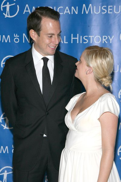 Will Arnett, Amy Poehler at The Museum Gala 2008 at The Museum of Natural History, Central Park West at 79th Street, New York City, NY, USA