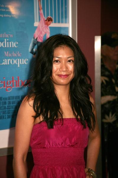 Liza Lapira at 'The Neighbor' Hollywood Premiere - Arrivals at Laemmle Sunset 5, Hollywood, CA, USA
