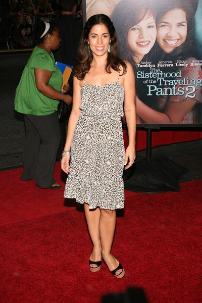 Ana Ortiz at 'The Sisterhood of the Traveling Pants 2' New York City Premiere at Ziegfeld Theatre, 141 West 54th Street, New York City, NY, USA