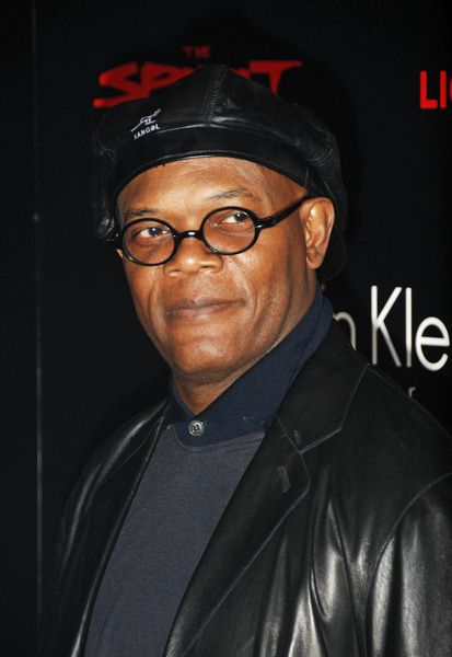 Samuel L. Jackson at 'The Spirit' London Premiere at The Old Sorting Office, London, UK