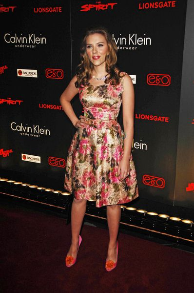 Scarlett Johansson at 'The Spirit' London Premiere at The Old Sorting Office, London, UK