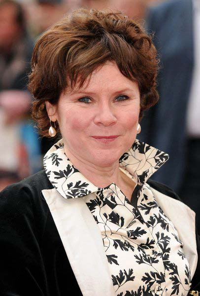 Imelda Staunton at 'Three and Out' London Premiere - Red Carpet Arrivals, Odeon Leicester Square, London, England