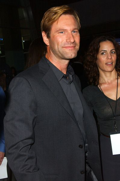 Aaron Eckhart at 'Towelhead' Los Angeles Premiere - Arrivals at ArcLight Cinemas, Hollywood, CA. USA - United States