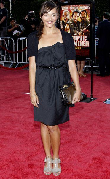 Rashida Jones at 'Tropic Thunder' Los Angeles Premiere - Arrivals at Mann Village Theater, Westwood, CA, USA