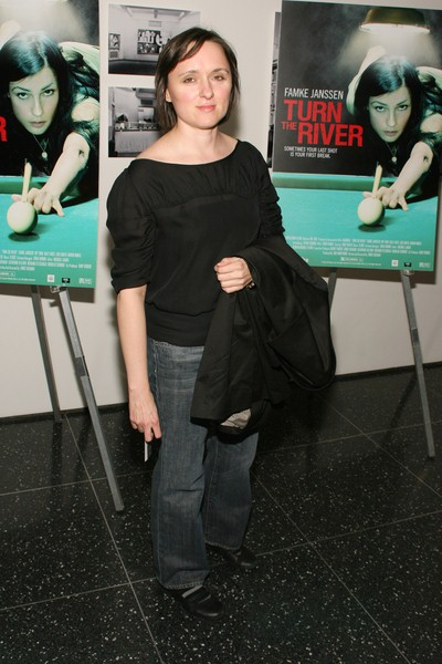 Sarah Vowel at 'Turn The River' New York City Premiere - Arrivals - Museum of Modern Art, New York City, NY, USA