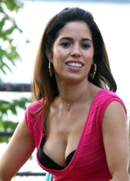 Ana Ortiz at 'Ugly Betty' Filming in Queens, New York City, NY, USA