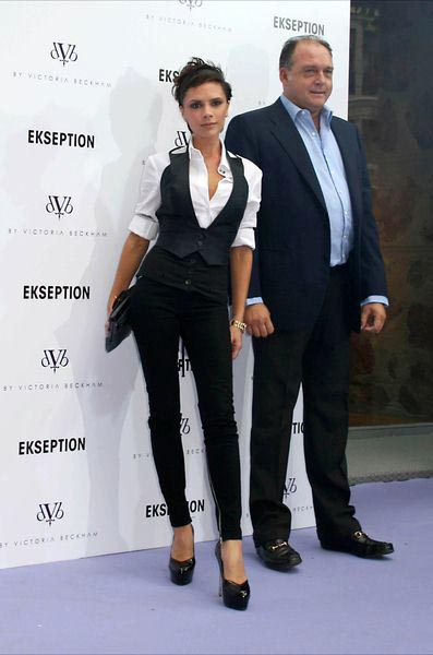 Victoria Beckham at Victoria Beckham Launches Her New dVb Jeans Collection at Ekseption in Madrid - Ekseption, Madrid, Spain