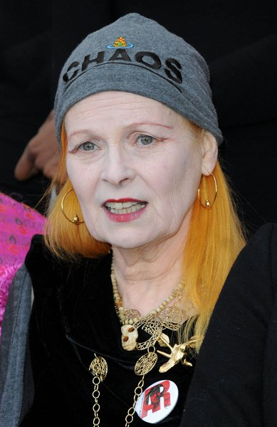 Vivienne Westwood at Vivienne Westwood Presents Manifesto - Arrivals at The Design Museum, London, England
