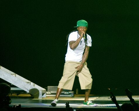 Lil Wayne at WGCI Big Jam 2008 at United Center in Chicago, IL, USA