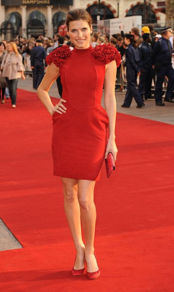 Lake Bell at 'What Happens in Vegas...' London Premiere - Arrivals - Odeon in Leicester Square, London, England