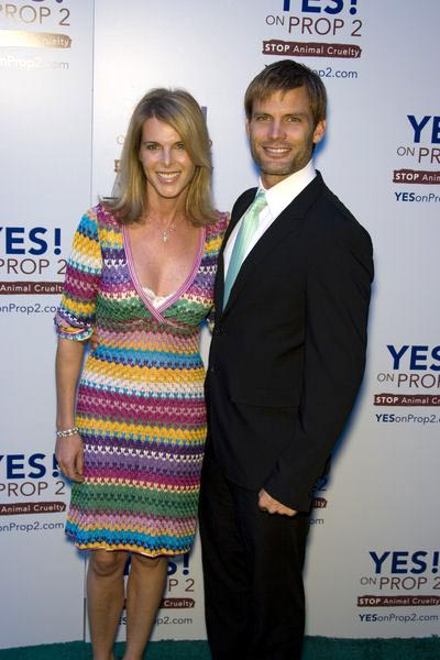 Catherine Oxenberg, Casper Van Dien at Yes on Prop 2 Benefit at Private Residence in Westwood, CA, USA