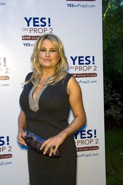 Jennifer Coolidge at Yes on Prop 2 Benefit at Private Residence in Westwood, CA, USA