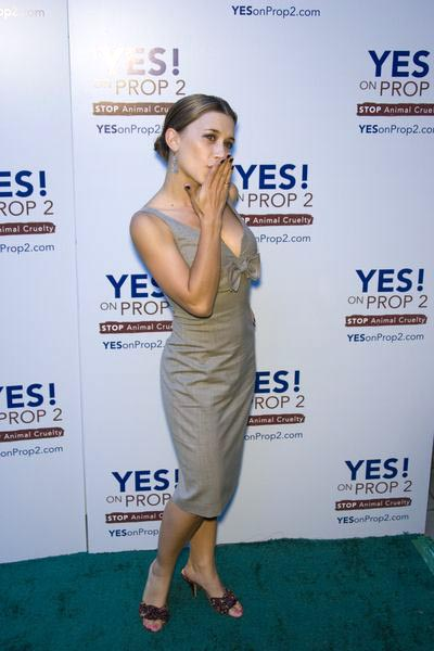 Olesya Rulin at Yes on Prop 2 Benefit at Private Residence in Westwood, CA, USA