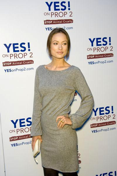 Olivia Wilde at Yes on Prop 2 Benefit at Private Residence in Westwood, CA, USA