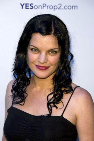 Pauley Perrette at Yes on Prop 2 Benefit at Private Residence in Westwood, CA, USA