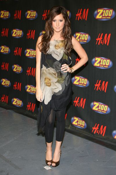 Ashley Tisdale at Z100's Jingle Ball 2008 at Madison Square Garden, 4 Penn Plaza at 34th Street, New York City, NY, USA