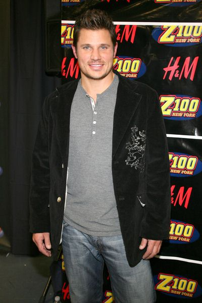 Nick Lachey at Z100's Jingle Ball 2008 at Madison Square Garden, 4 Penn Plaza at 34th Street, New York City, NY, USA