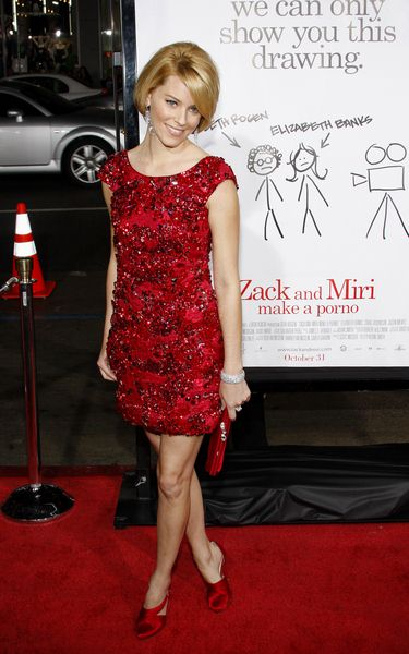Elizabeth Banks at 'Zack and Miri Make a Porno' Hollywood Premiere - Arrivals at Grauman's Chinese Theater, Hollywood, CA, USA